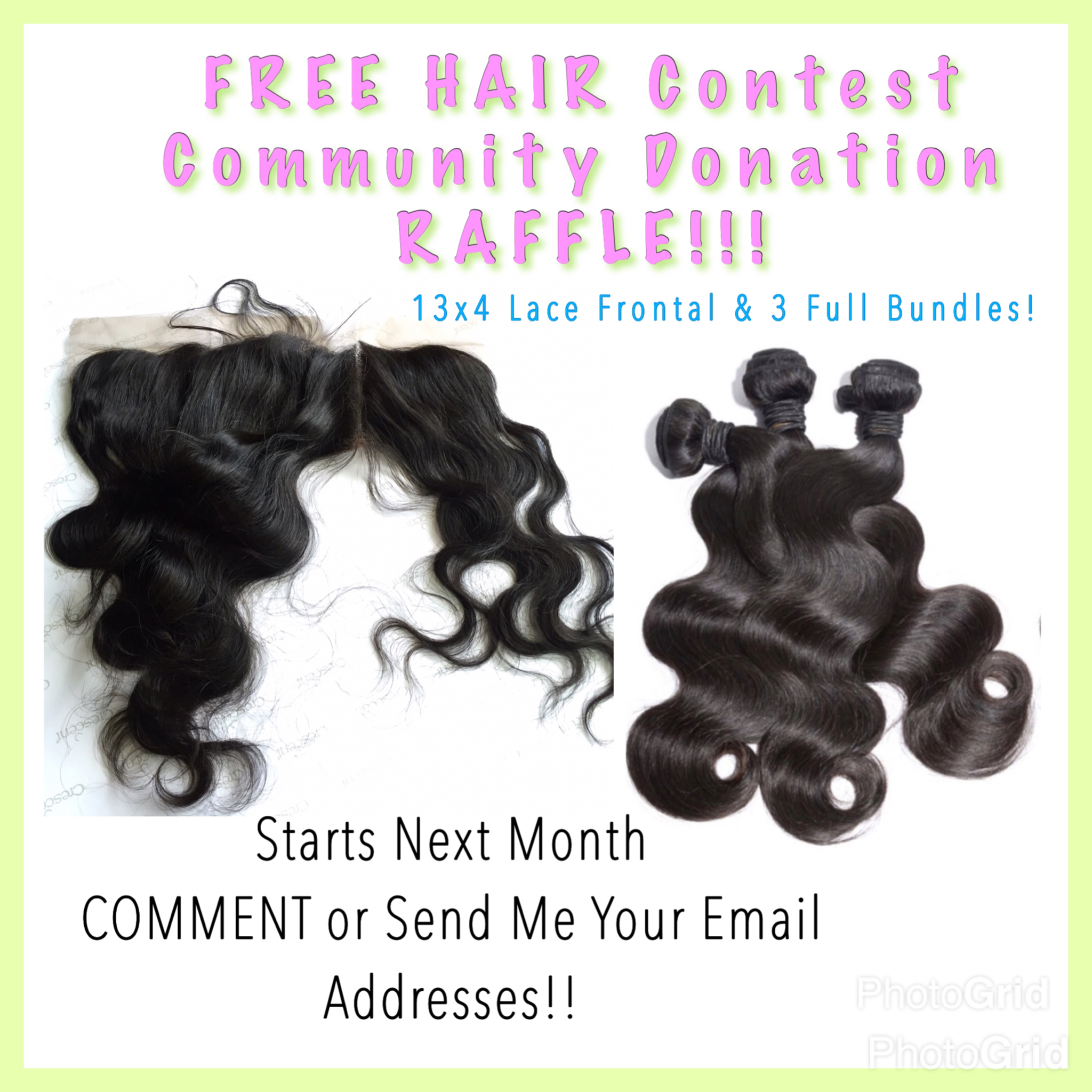 FREE 13x4 LACE FRONTAL & 3 BUNDLES Community Homeless Shelter ...