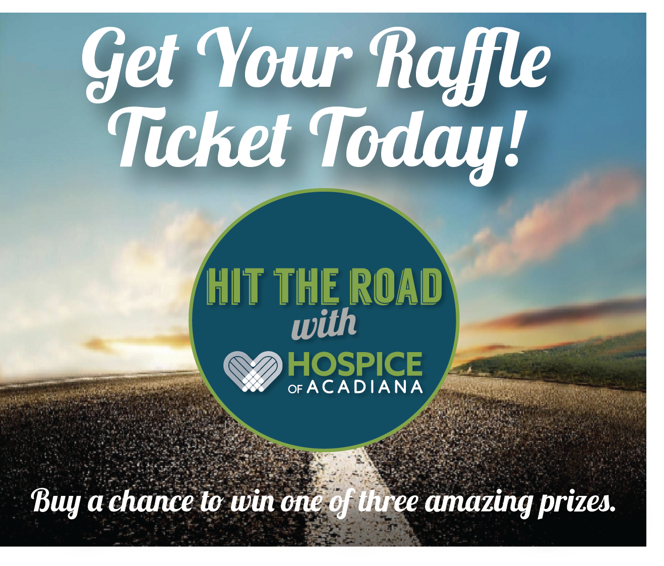 hit the road with hospice of acadiana