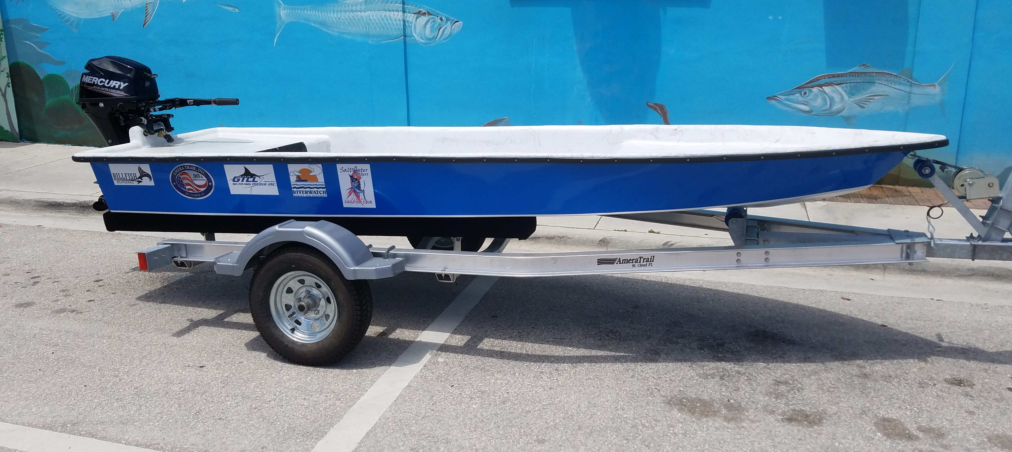 Win a Boat/Motor/Trailer from Saltwater Sisters! | Raffle Creator